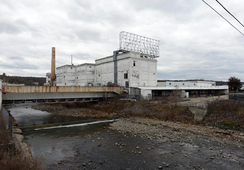 The former Beech-Nut factory in Canajoharie is pictured in November.