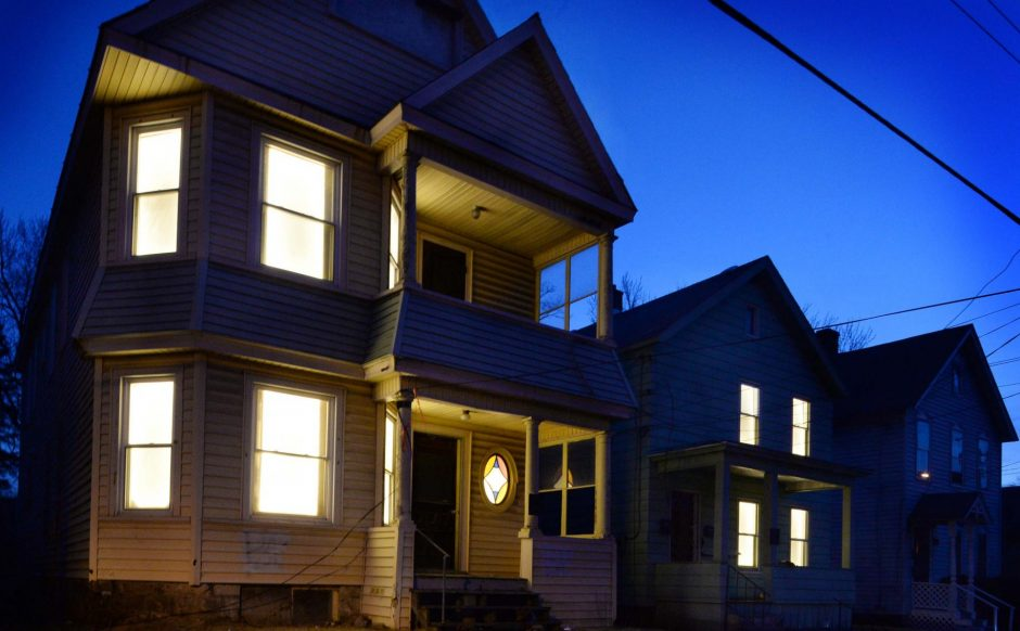 A 2016 art project that highlighted vacant properties in Schenectady