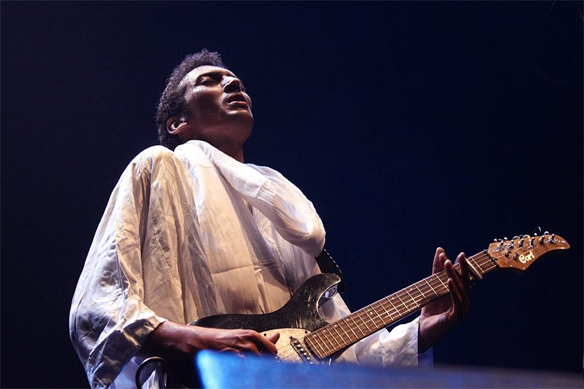 Oumara Moctar, better known as Bombino, will perform Sunday at Music Haven in Schenectady.