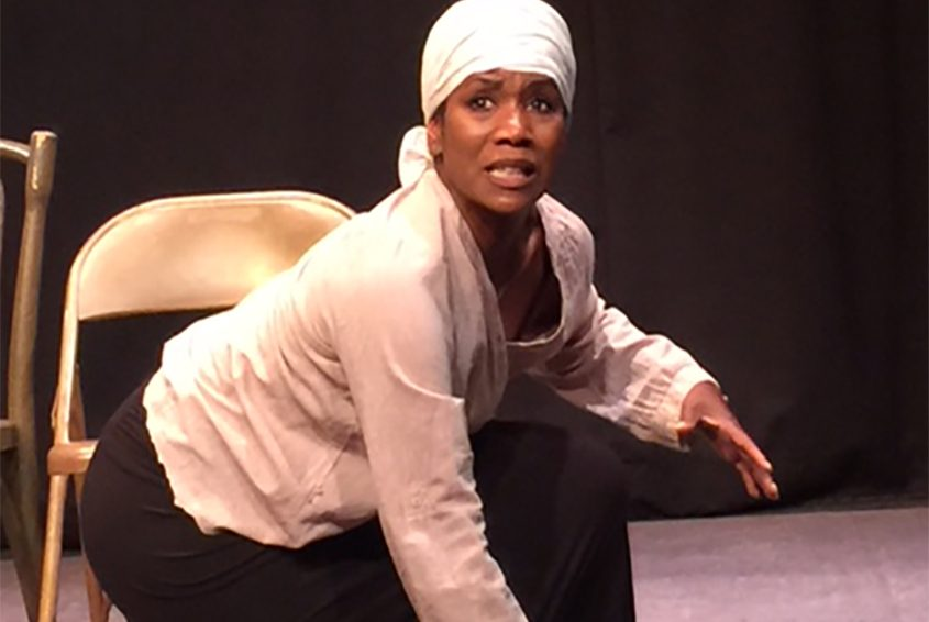 """Kim Wafer plays the title character in """"Harriet Tubman Visits a Therapist."""""""