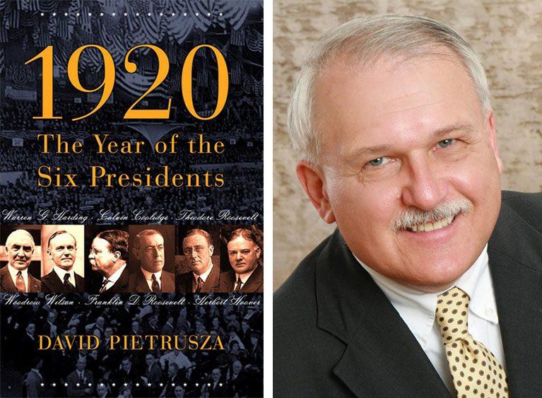 David Pietrusza and his new book.