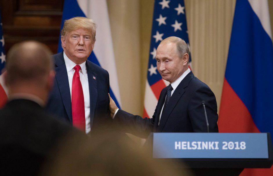 President Donald Trump and Russian President Vladimir Putin meet on Monday.