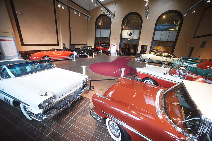 "The Saratoga Automobile Museum is featuring the exhibit ""Cars and Culture of the 1950s."""