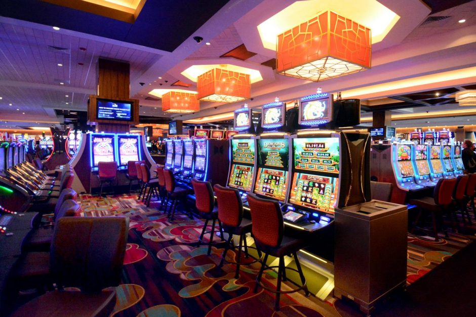 The gaming floor of the Rivers Casino & Resort in Schenectady is shown in this file photograph.