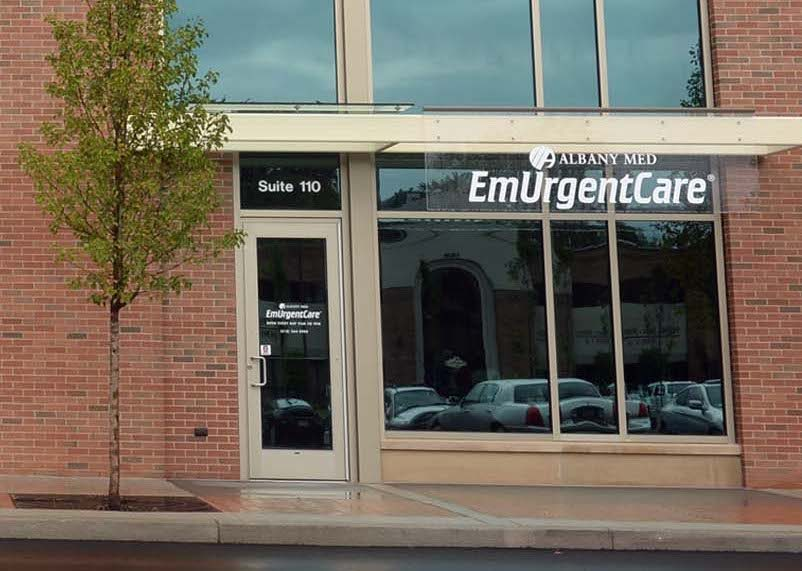 Albany Medical Center EmUrgent Care on the first floor of the Socha Plaza Building in Glenville in 2014.