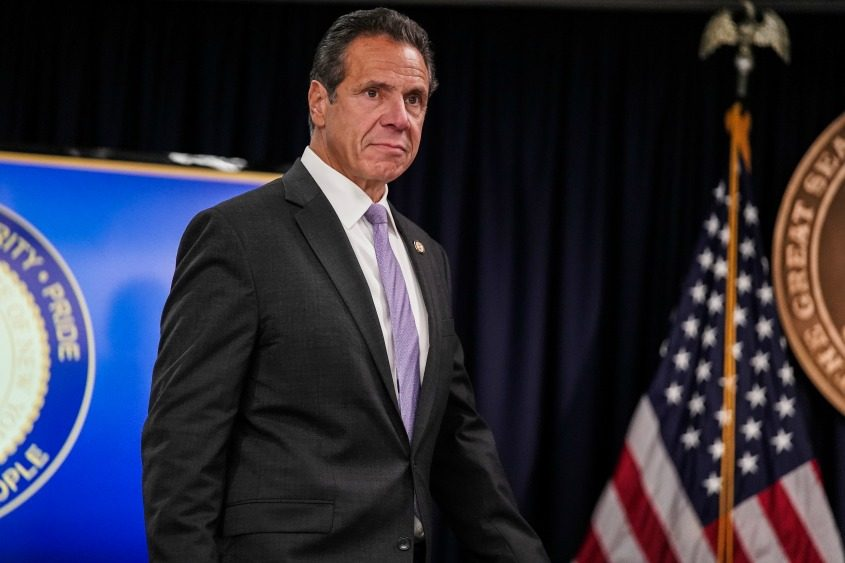 Gov. Andrew Cuomo at a news conference Sept. 14