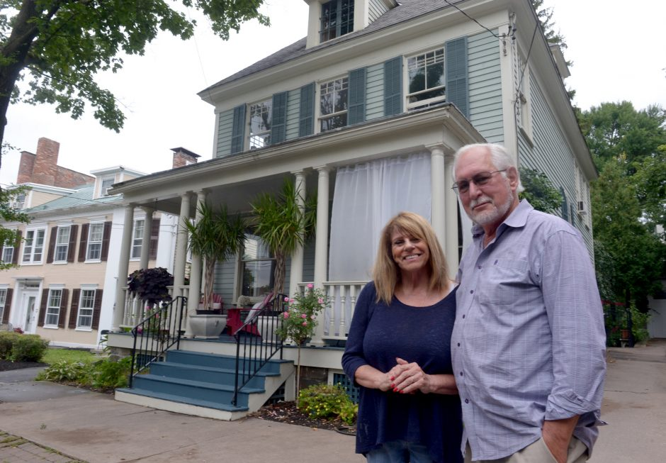 The home of Frank Gilmore and Mary D'Alessandro-Gilmore located at 7 Washington Ave. in Schenectady.