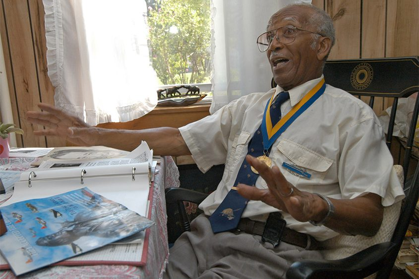 Ralph Boyd Sr.is pictured at his Niskayuna home in 2005.