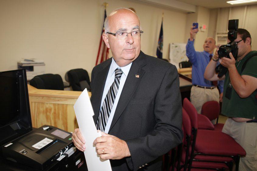 Saratoga County Sheriff Michael Zurlo is pictured.