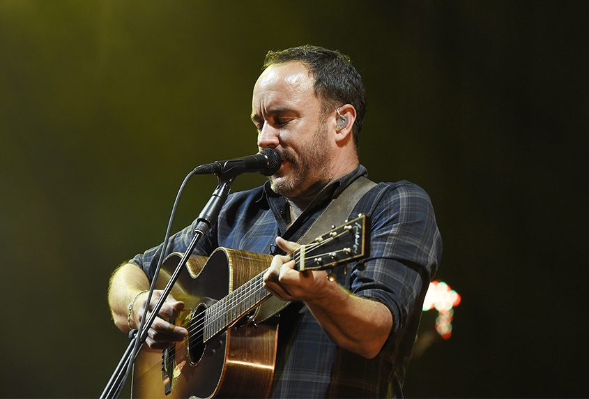 Dave Matthews performs on July 13 at Saratoga Performing Arts Center.
