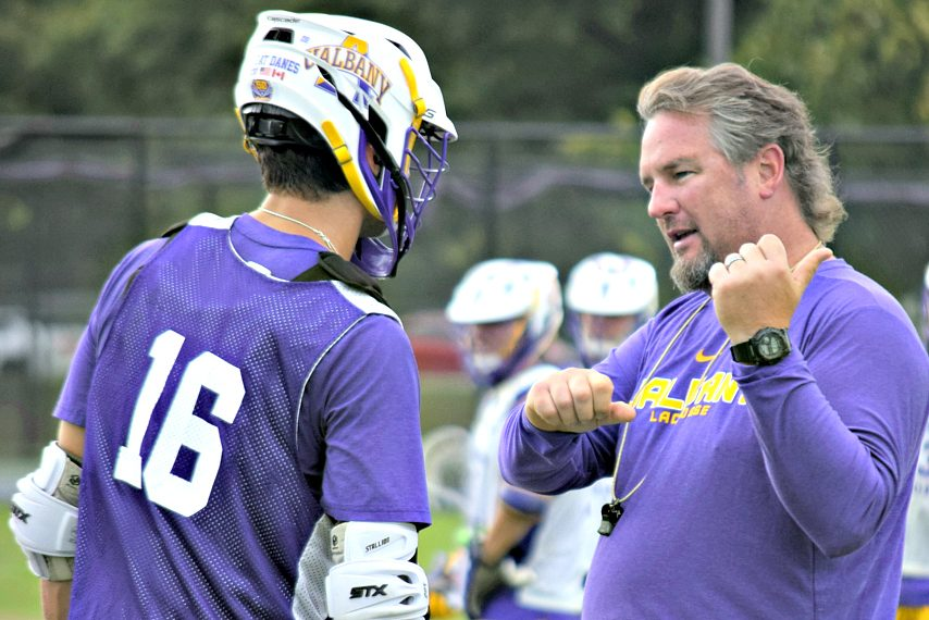 Fall practices are underway for the Great Danes.