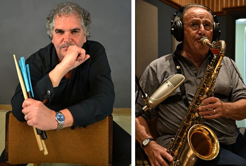 Cliff Brucker, left, and Leo Russo will join the rest of Full Circle in concert Friday night.