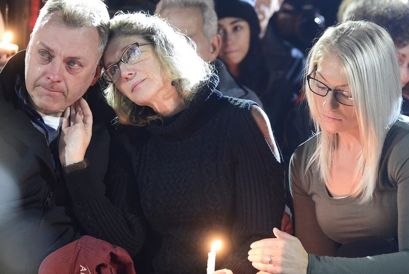 Thousands turned out in Amsterdam for a candlelight vigil to honor those killed in Schoharie.