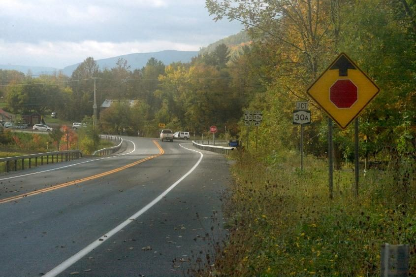 The Route 30 approach