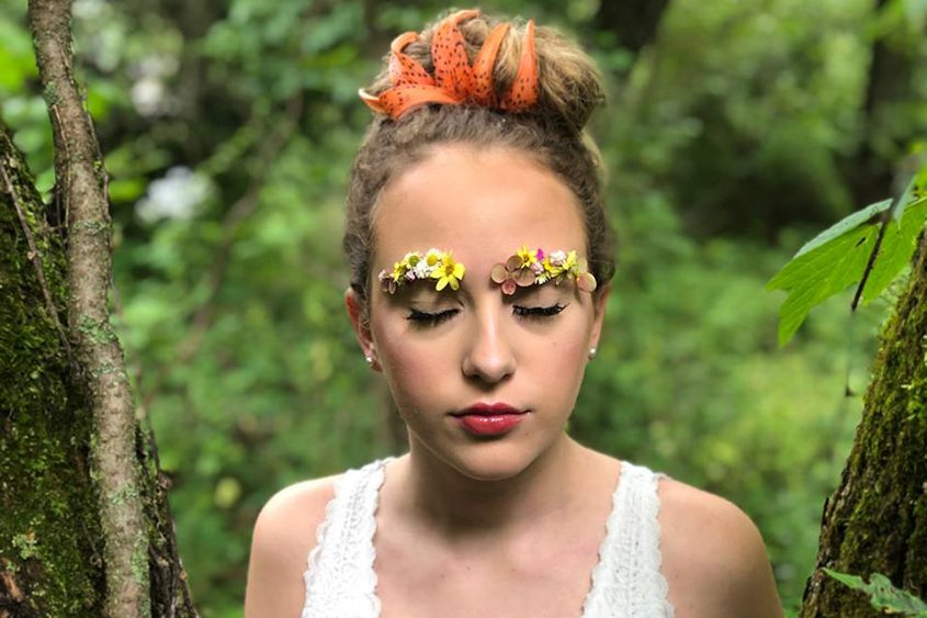 An SFX look by Isabella Dupont, who will be competing in the student portion of the competition on Oct. 13.