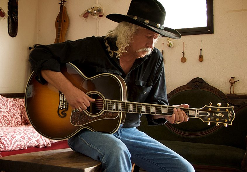Arlo Guthrie and friends perform at The Egg Friday night.