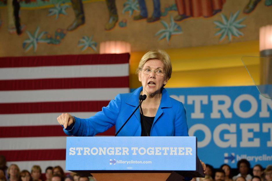 Elizabeth Warren in 2016