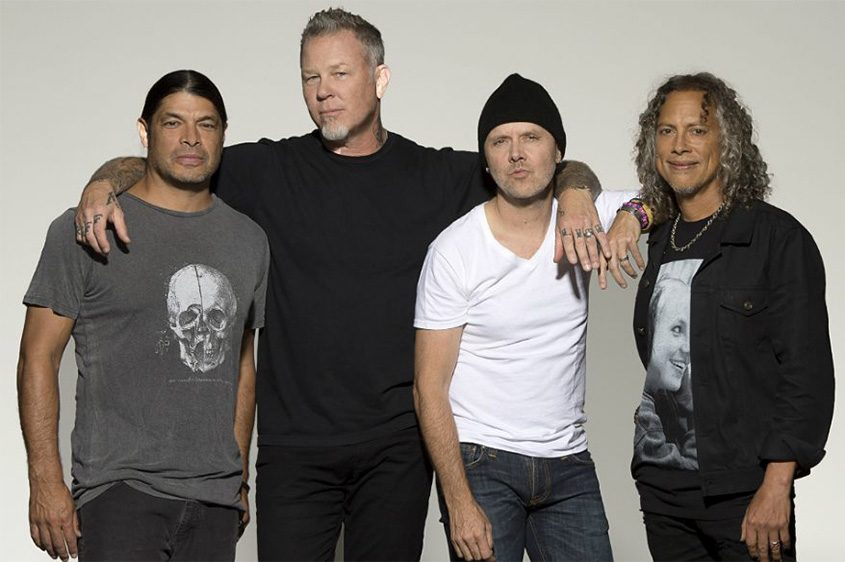 Metallica performed Monday night at the Times Union Center.