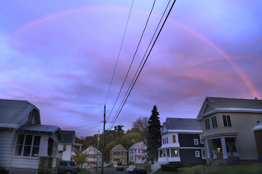 Halloween Rules 2020 Schenectady Weather: Halloween forecast and this morning's rainbow | The Daily