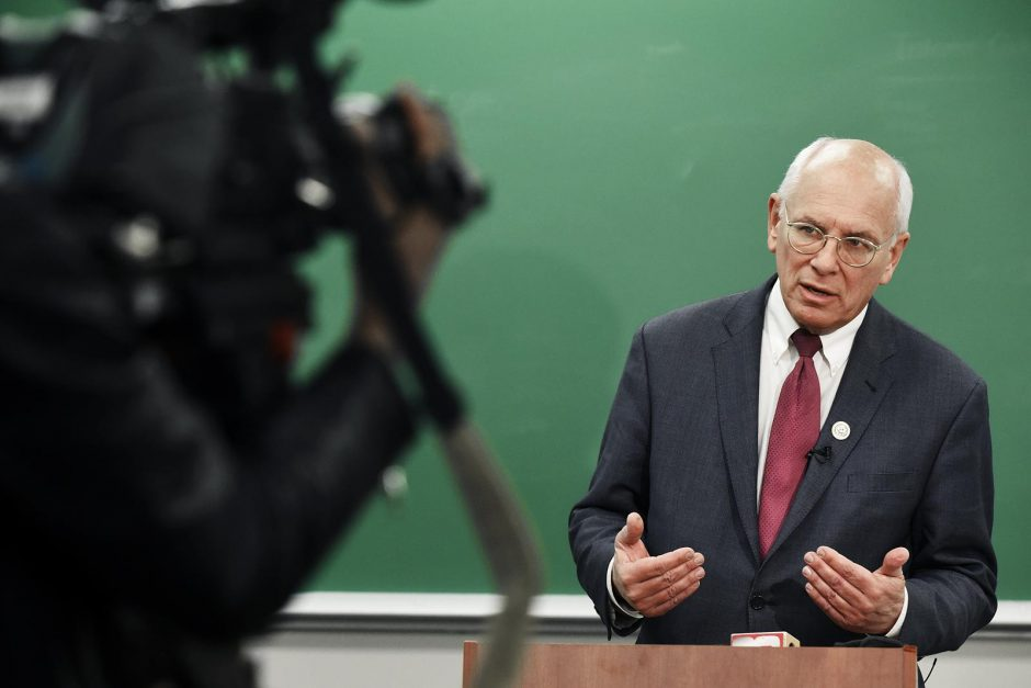 U.S. Rep. Paul Tonko held a Town Hall on Thursday, April 20, 2017, at Skidmore College in Saratoga Springs.