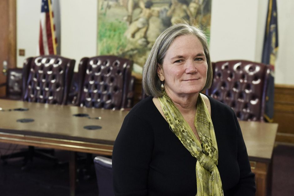 Incoming Saratoga Springs mayor Meg Kelly is pictured.