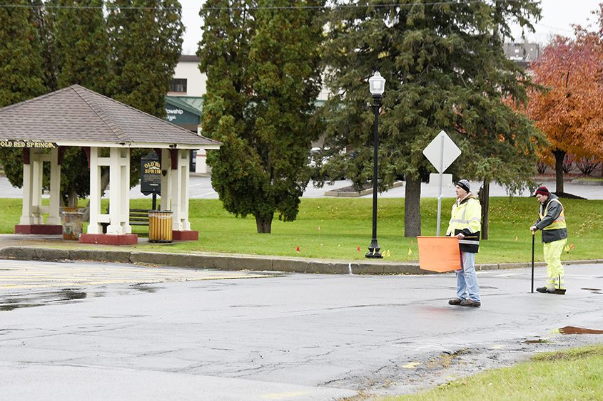 Construction will begin soon at High Rock and Excelsior avenues in Saratoga Springs.