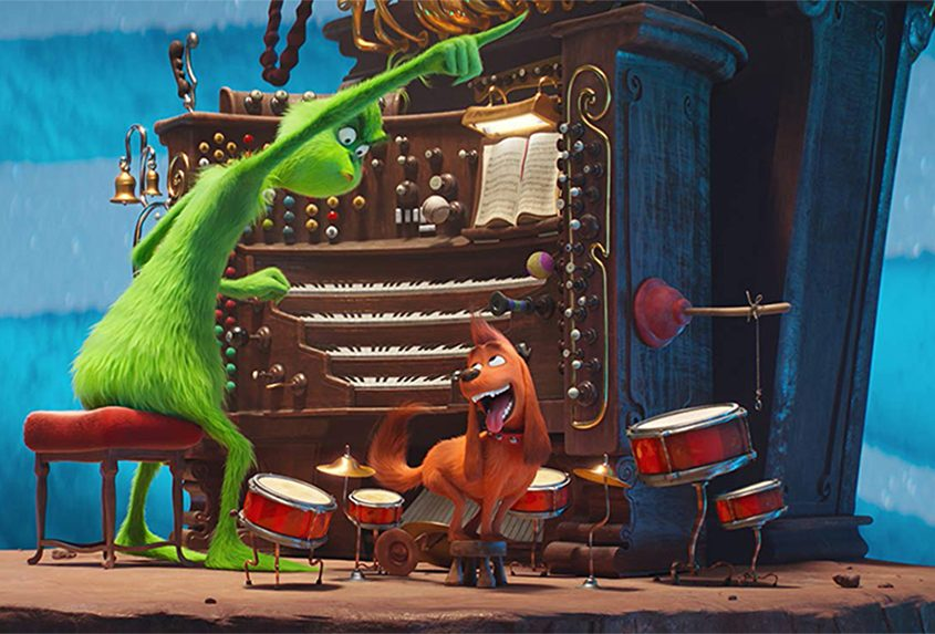 """A scene from """"Dr. Seuss' The Grinch."""""""