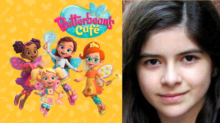 Gabriella Pizzolo with graphics from NickJr.'s Butterbean's Cafe