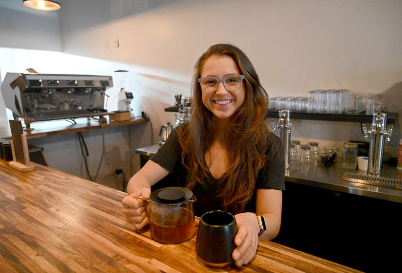 Liza Morgan is the owner of the new Liza's restaurant at 508 State St. in Schenectady.