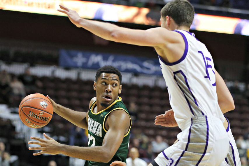 Jalen Pickett is the reigning MAAC Rookie of the Week.