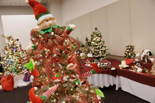 Festival of Trees at Saratoga Springs City Center, November 30, 2018.