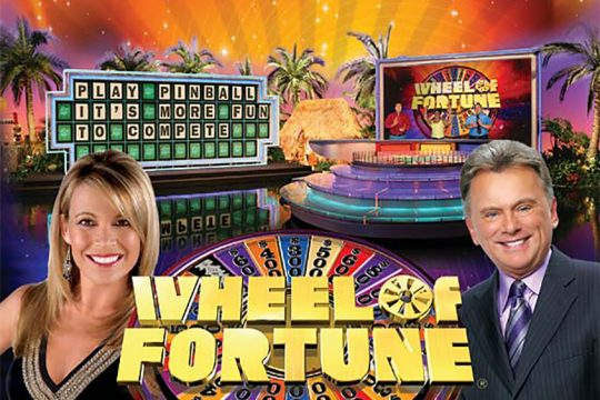 """Vanna White and Pat Sajak host """"Wheel of Fortune."""""""