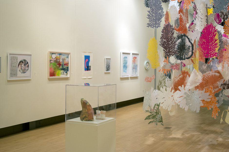 """Screenprint Biennial 2018"" runs through Dec. 14 at the Opalka Gallery in Albany."