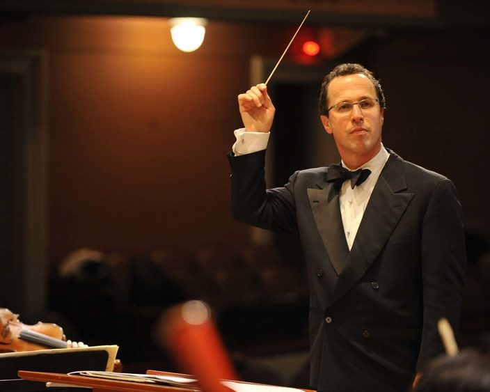 Albany Symphony Orchestra's David Alan Miller has earned his third Grammy Award music nomination.
