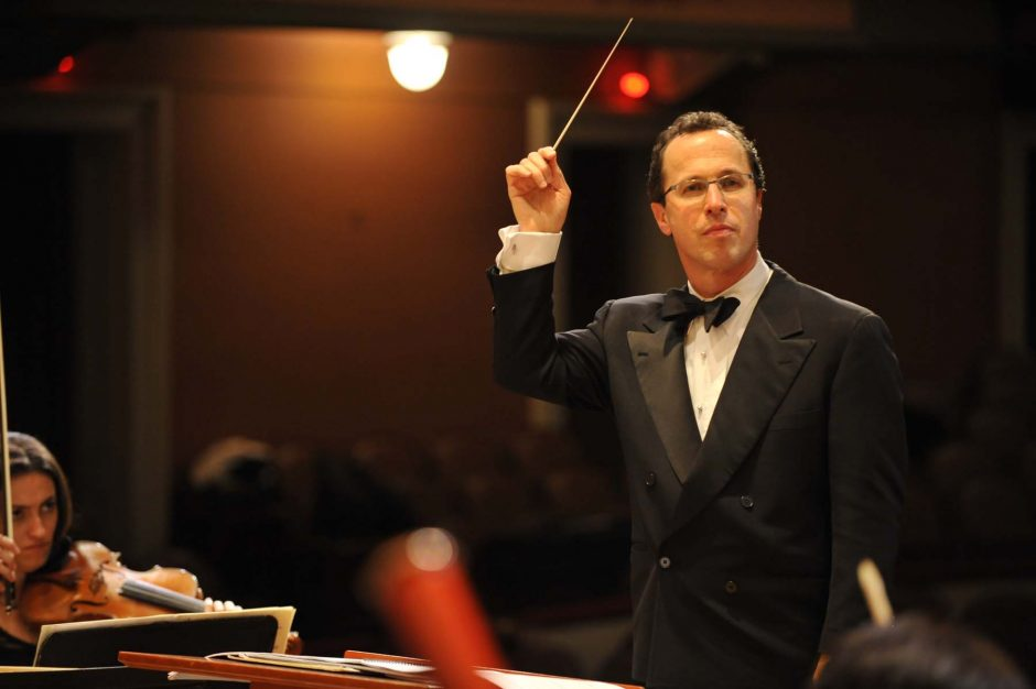 David Alan Miller and the Albany Symphony Orchestra will play two concerts at Troy Savings Bank Music Hall this weekend.