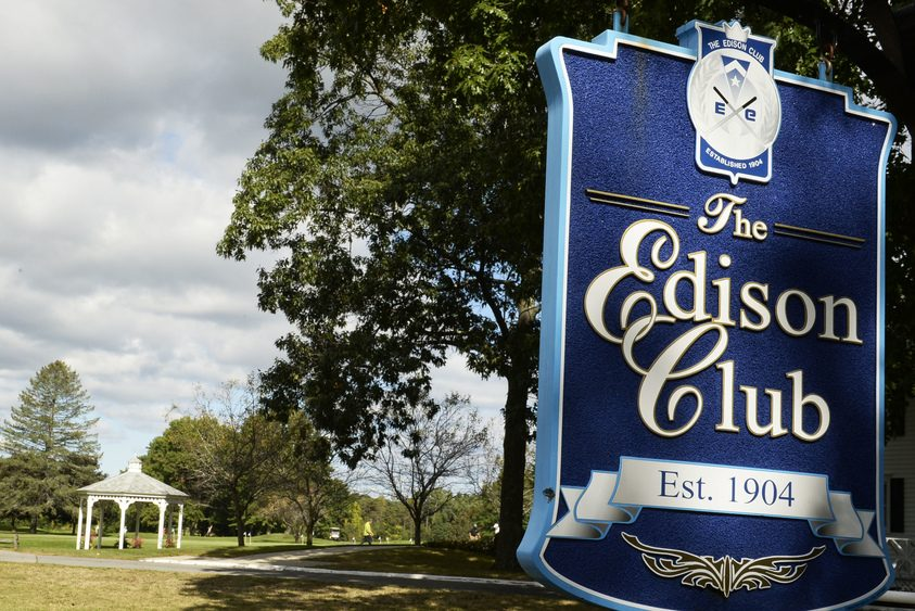 The Edison Golf Club on Riverview Road in Rexford is pictured.