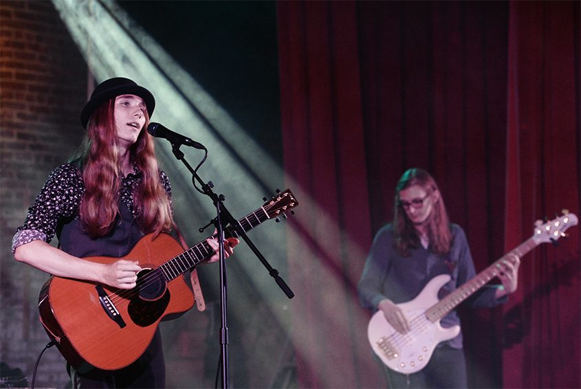Sawyer Fredericks performs at the Glove Theatre last June.