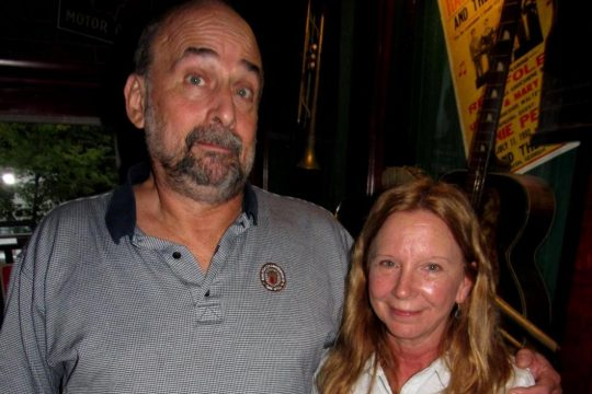 Owner Ralph Spillenger and wife Sharleen Spellenger at the Bayou Cafe in 2016.