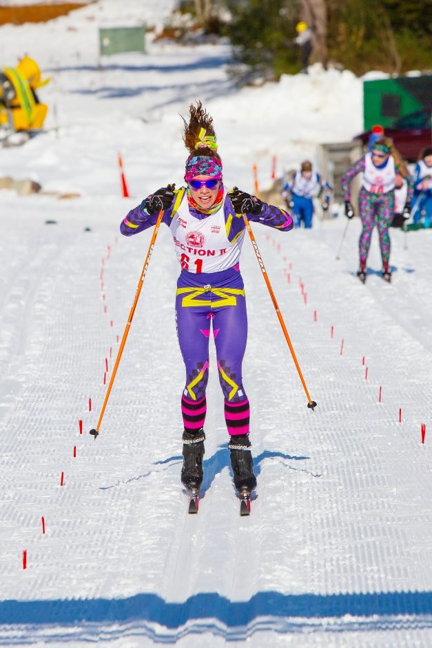 Mayfield High School skiier Madison Relyea.