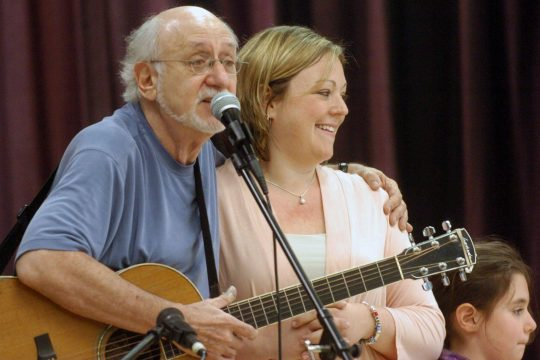 Peter Yarrow of Peter, Paul and Mary fame performs in Clifton Park in 2010