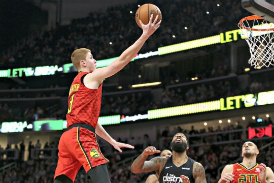 Kevin Huerter was the No. 19 pick in this year's NBA draft.