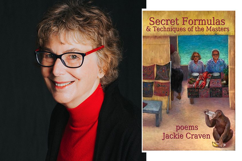 Jackie Craven and her latest book