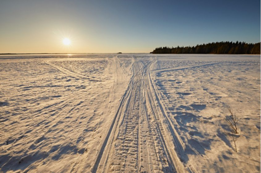 A Duchess County man died late Friday in a snowmobiling accident on Great Sacandaga Lake.