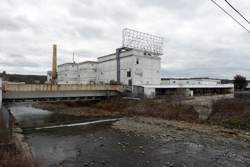 The Beech-Nut factory on Church Street in Canajoharie is shown here in this November 2017 photograph.