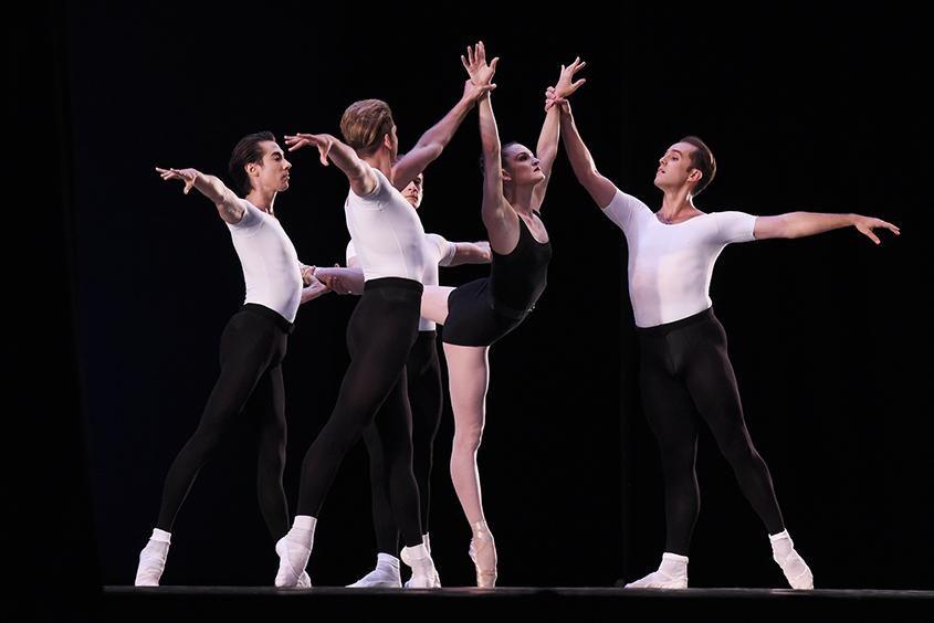 New York City Ballet dancers in 2018