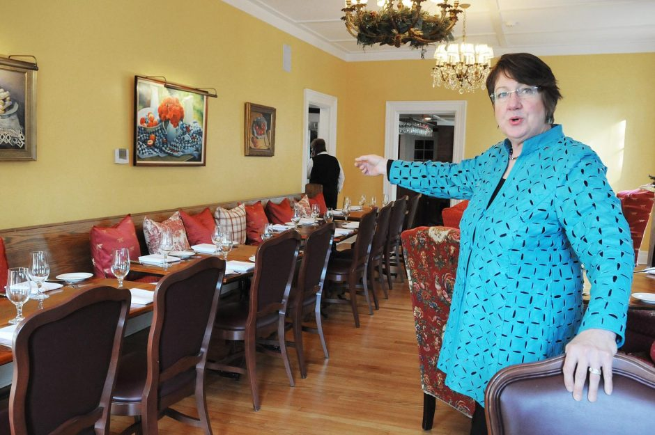 Chez Nous co-owner Heather Chestnut is shown in the restaurant shortly before it opened in 2015.
