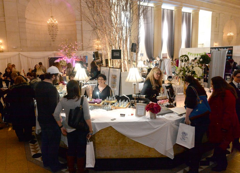 The 2017 Gazette Bridal Show held at the Hall of Springs and Gideon Putnam Hotel.