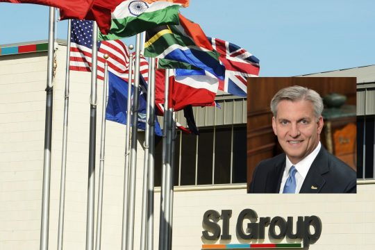 SI Group CEO Frank Bozich (Inset); SI Group on Balltown Road