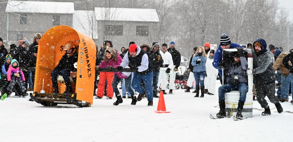 The Annual Lake Desolation Outhouse Races were held January 27, 2019.