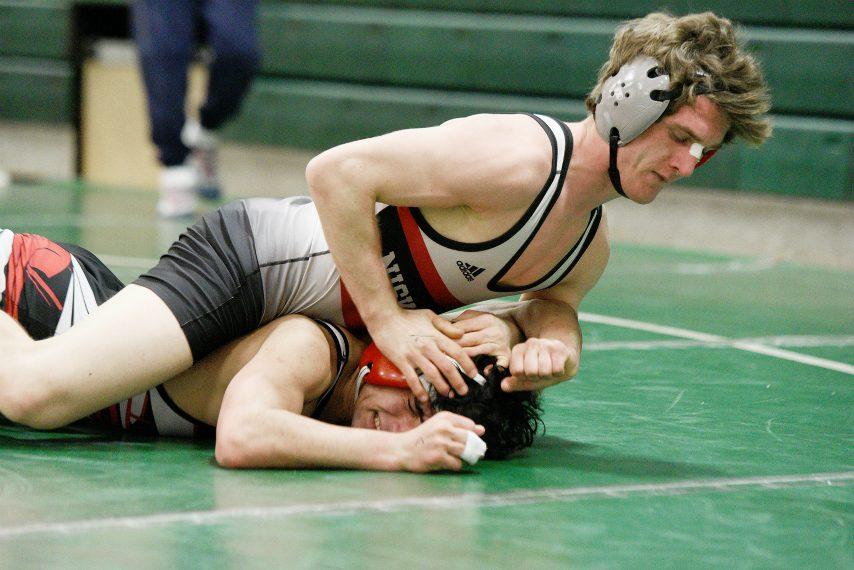 Niskayuna senior wrestler Willie Thacker won the Section II Class A 138-pound title Saturday at Shenendehowa High School.